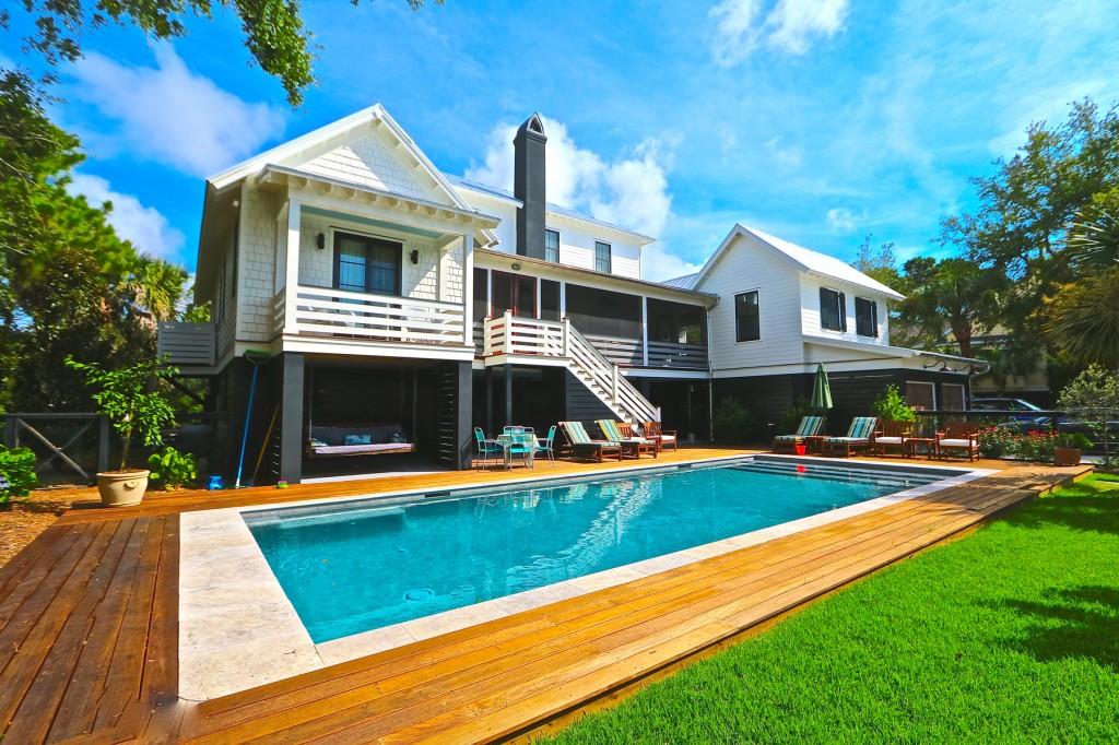 2830 Middle Street Sullivan's Island, SC Pool